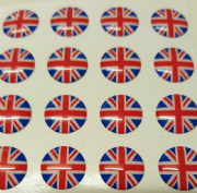 Union Jack Hankie Pin 10mm